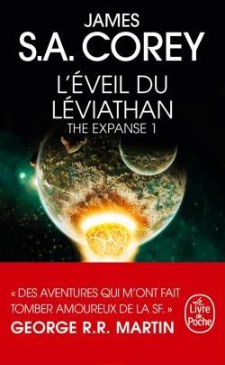 Couverture The expanse, tome 1 : L'éveil du leviathan