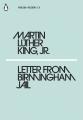Couverture Letter from Birmingham Jail Editions Penguin books (Classics) 2018