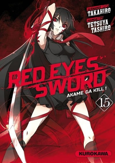 Couverture Red eyes sword, tome 15