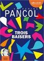 Couverture Trois baisers Editions Audiolib 2018