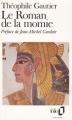 Couverture Le roman de la momie Editions Folio  1990