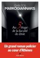Couverture Au 5e étage de la faculté de droit Editions Albin Michel 2018