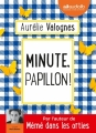 Couverture Minute, papillon ! Editions Audiolib 2018