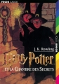Couverture Harry Potter, tome 2 : Harry Potter et la chambre des secrets Editions Folio  (Junior) 2001