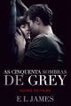 Couverture Cinquante nuances de Grey, tome 1 Editions Lua de Papel 2015