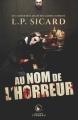 Couverture Au nom de l'horreur Editions AdA 2018