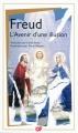 Couverture L'avenir d'une illusion Editions Flammarion (GF) 2011