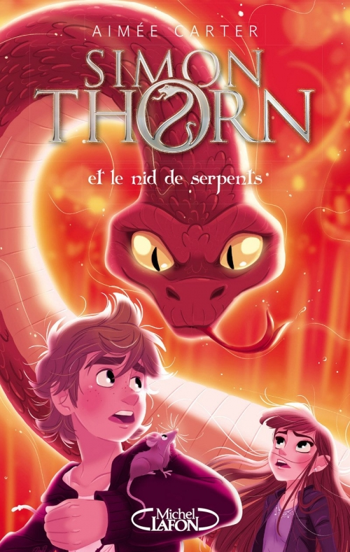 Couverture Simon Thorn, tome 2 : Simon Thorn et le nid de serpents
