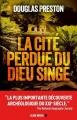 Couverture La cité perdue du dieu singe Editions Albin Michel 2018