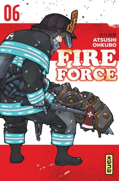 Couverture Fire Force, tome 06