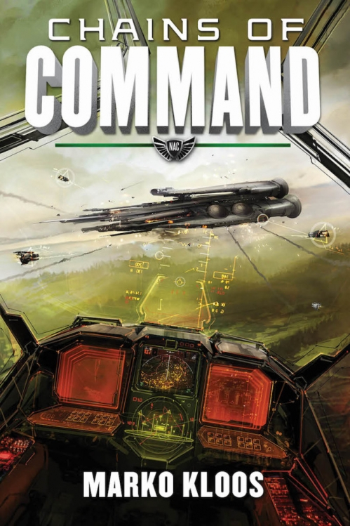 Couverture Frontlines, book 4: Chains of Command