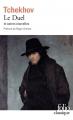 Couverture Le duel et autres nouvelles Editions Folio  1983