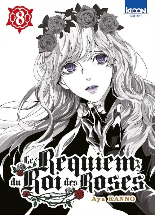 Couverture Le requiem du roi des roses, tome 08