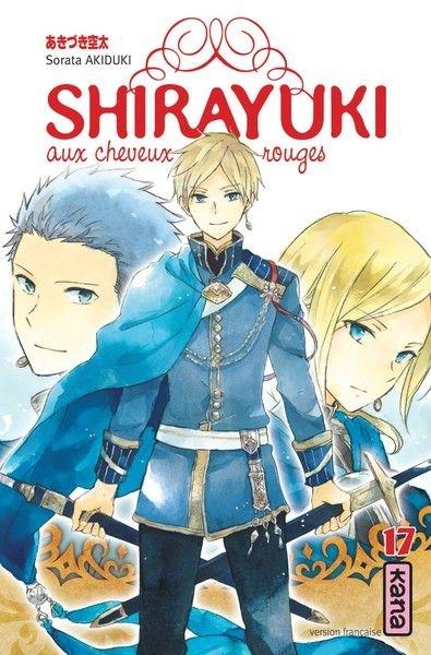 Couverture Shirayuki aux cheveux rouges, tome 17