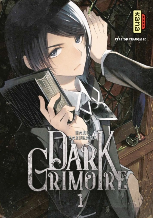 Couverture Dark grimoire, tome 1