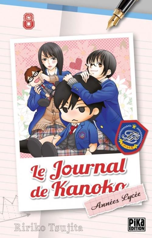 Couverture Le journal de Kanoko : Années lycées, tome 08