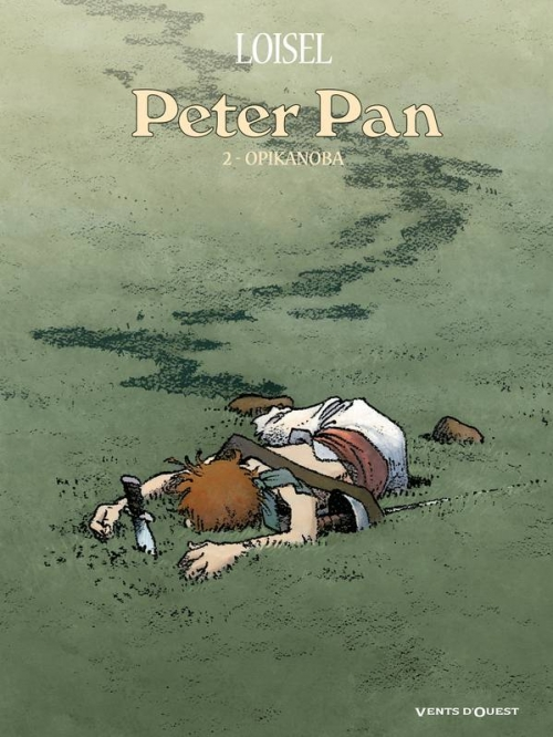 Couverture Peter Pan, tome 2 : Opikanoba