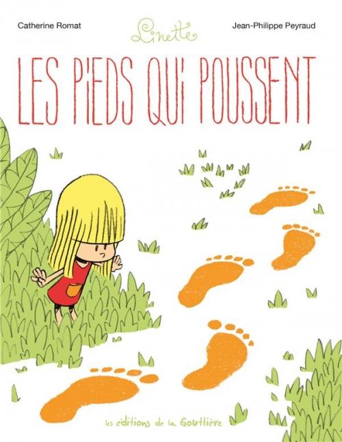 Couverture Linette, tome 1 : Les pieds qui poussent