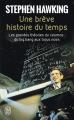 Couverture Une brève histoire du temps Editions J'ai Lu (Essai) 2007