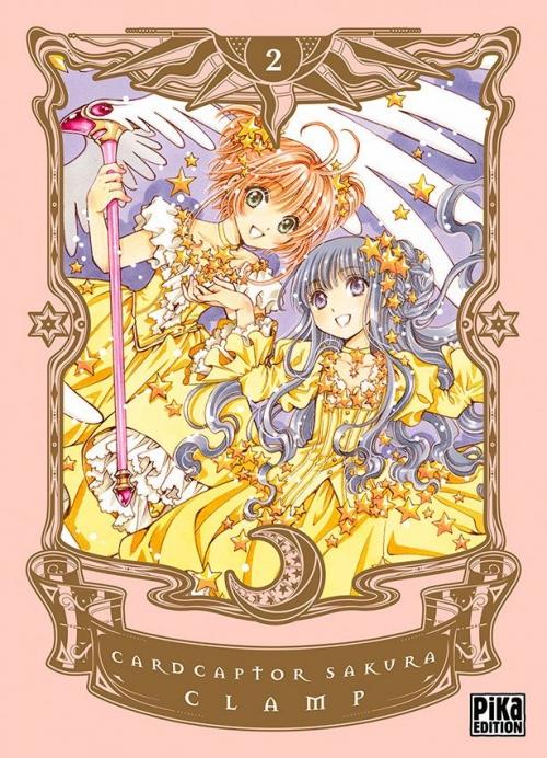 Couverture Card Captor Sakura, deluxe, tome 2