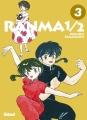 Couverture Ranma 1/2, revue et augmentée, tome 03 Editions Glénat (Shônen) 2018