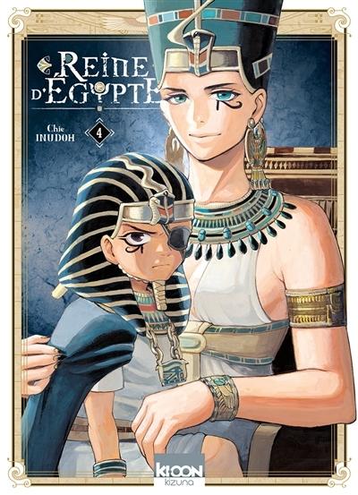 Couverture Reine d'Egypte, tome 4