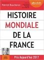 Couverture Histoire mondiale de la France Editions Audiolib 2018