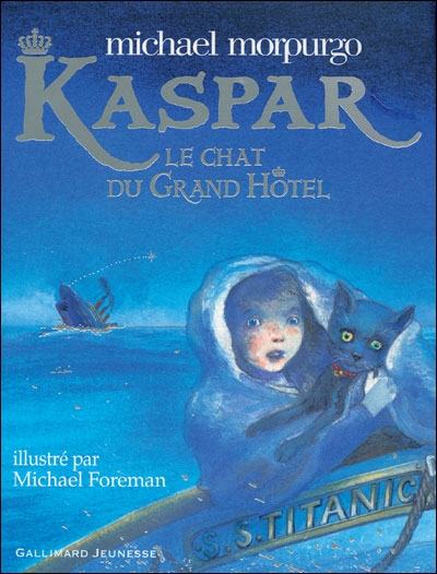 Couverture Kaspar : Le chat du grand hôtel (Foreman)