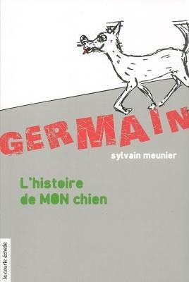 Couverture Germain : L'histoire de mon chien
