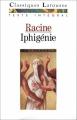 Couverture Iphigénie Editions Larousse (Classiques) 1991