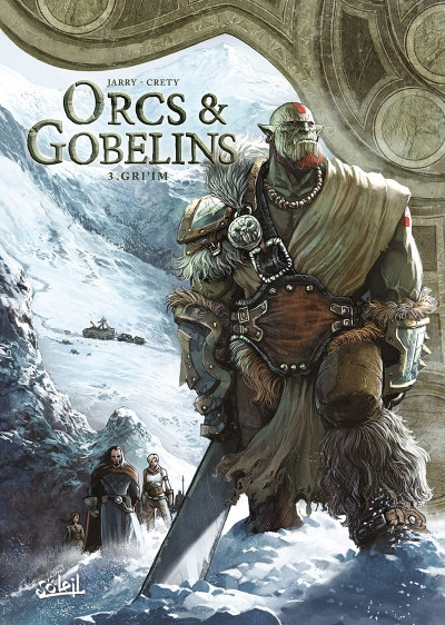 Couverture Orcs & Gobelins, tome 3 : Gri'im