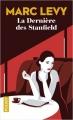 Couverture La dernière des Stanfield Editions Pocket 2018