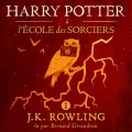 Couverture Harry Potter, tome 1 : Harry Potter à l'école des sorciers Editions Audible studios 2017