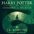 Couverture Harry Potter, tome 2 : Harry Potter et la chambre des secrets Editions Audible studios 2017