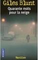 Couverture Quarante mots pour la neige Editions Pocket (Thriller) 2003