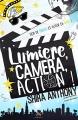 Couverture Lumière, caméra, action ! Editions MxM Bookmark 2018