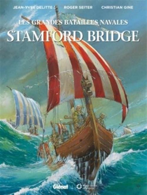 Couverture Les grandes batailles navales, tome 6 : Stamford bridge