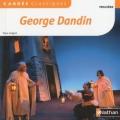 Couverture George Dandin / George Dandin ou le mari confondu Editions Nathan (Carrés classiques) 2016