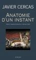 Couverture Anatomie d'un instant Editions Actes Sud 2010