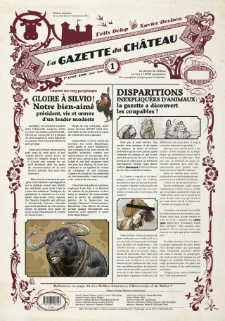 Couverture La gazette du château, tome 1