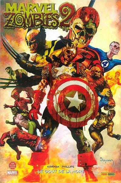 Couverture Marvel Zombies (9 tomes), tome 3 : Le goût de la mort