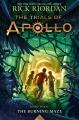 Couverture Les travaux d'Apollon, tome 3 : Le piège de feu Editions Disney-Hyperion 2018