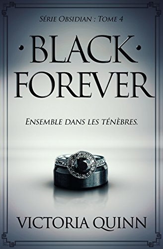 Couverture Obsidian, tome 4 : Black forever