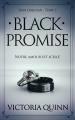 Couverture Obsidian, tome 3 : Black promise Editions CreateSpace 2018