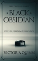 Couverture Obsidian, tome 1 : Black obsidian Editions CreateSpace 2018