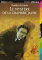 Couverture Le Mystère de la chambre jaune Editions Folio  (Junior - Edition spéciale) 1997