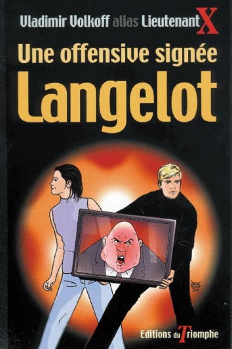 Couverture Une offensive signée Langelot