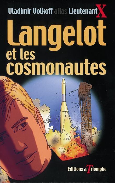 Couverture Langelot et les cosmonautes