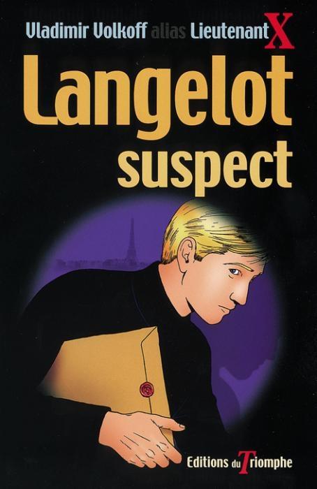 Couverture Langelot suspect