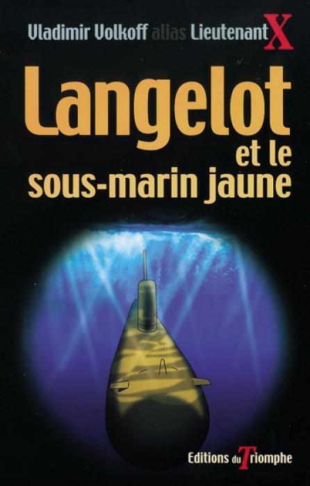 Couverture Langelot et le sous-marin jaune